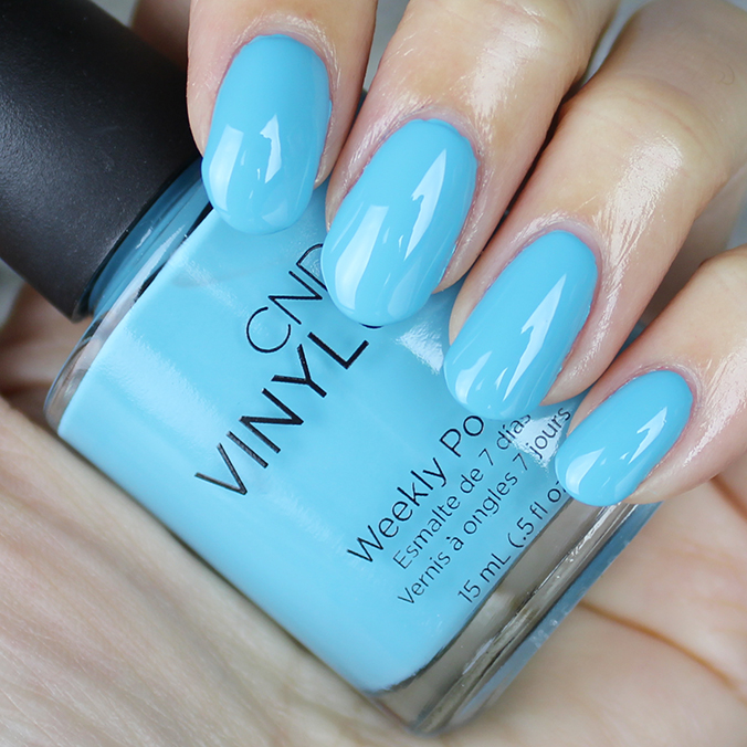 CND Vinylux Aqua-intance Swatch Swatches Flirtation Collection