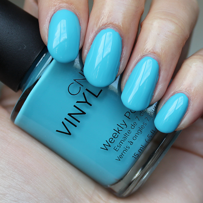 CND Vinylux Aqua-intance Swatches Swatch