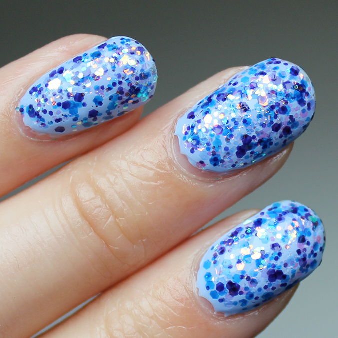 China Glaze Moonlight the Night Review Swatches