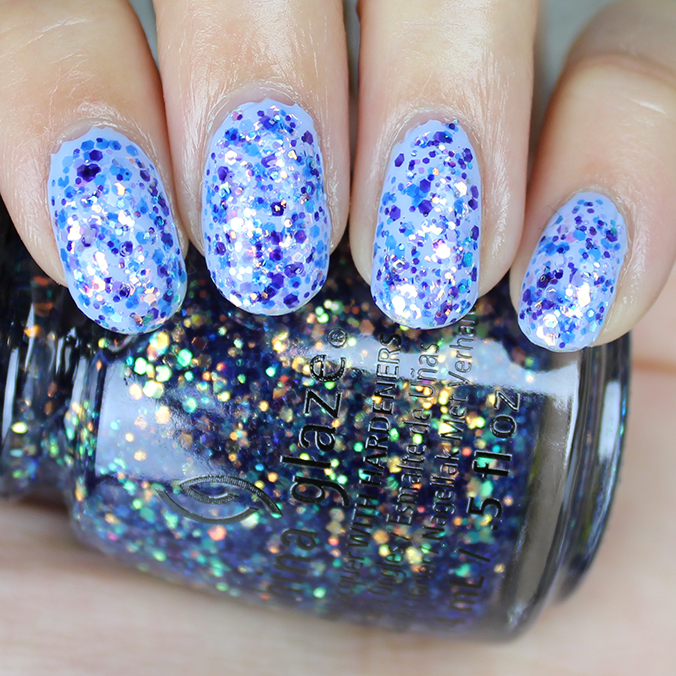 China Glaze Moonlight the Night Swatch Review