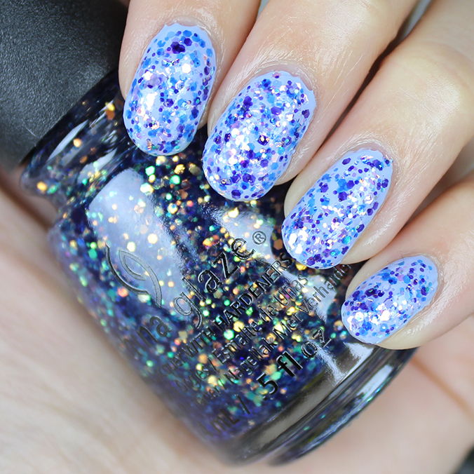 China Glaze Moonlight the Night Swatches Review