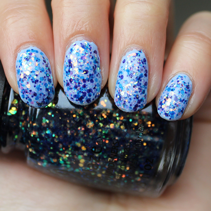 China Glaze Moonlight the Night Swatches Swatch
