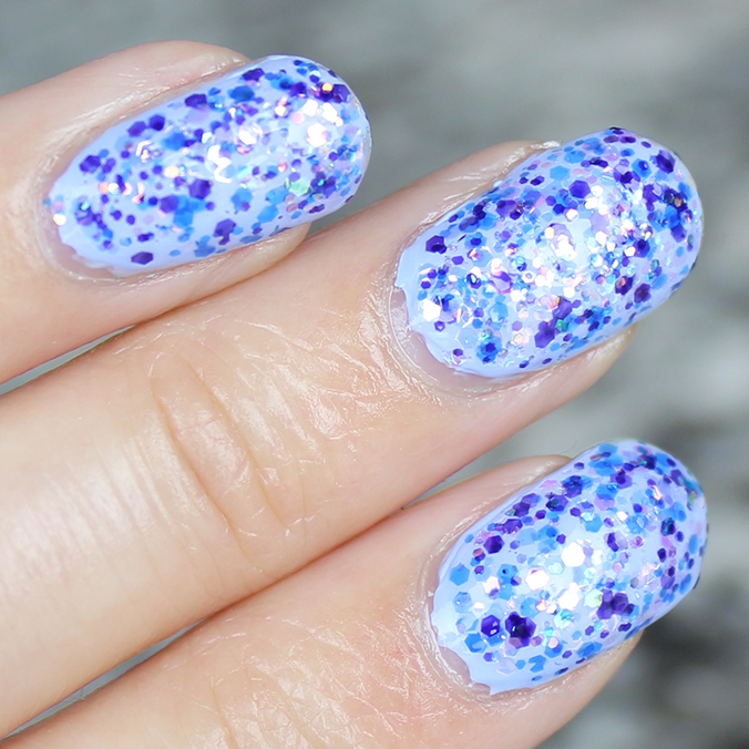 China Glaze Moonlight the Night Swatches
