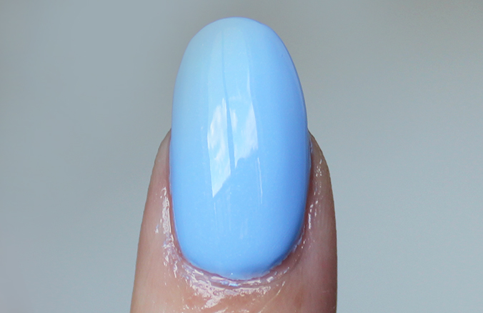 Essie Bikini So Teeny Nail Swatches