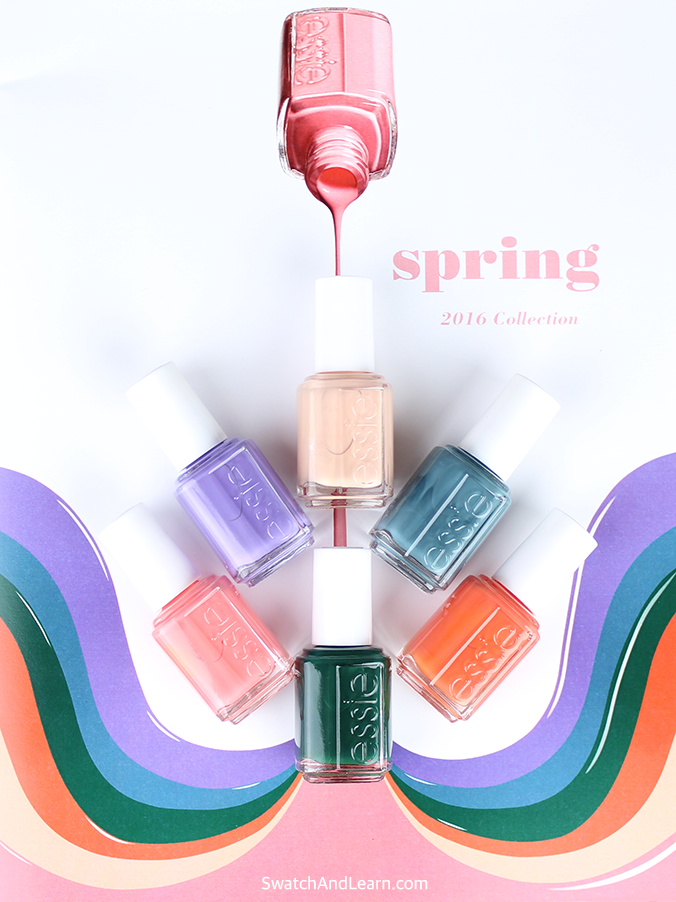 Essie Spring 2016 Collection Swatches | Swatch And Learn