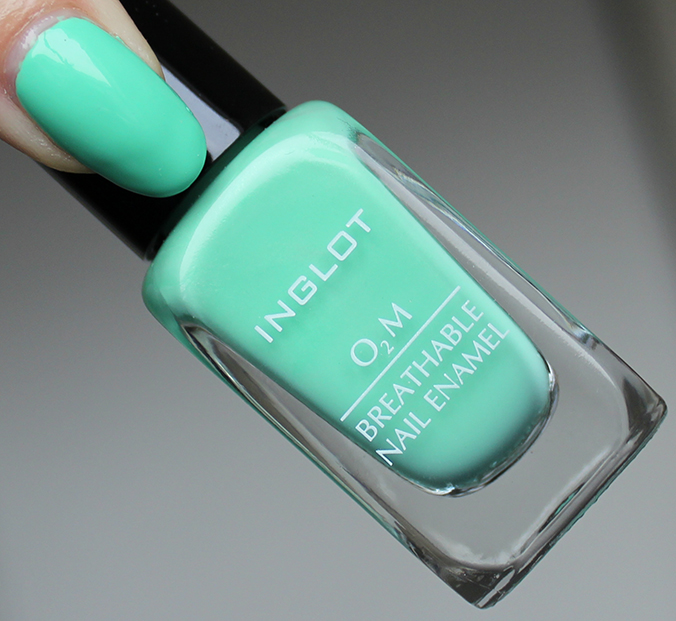 INGLOT O2M Breathable Nail Enamel 688 Review