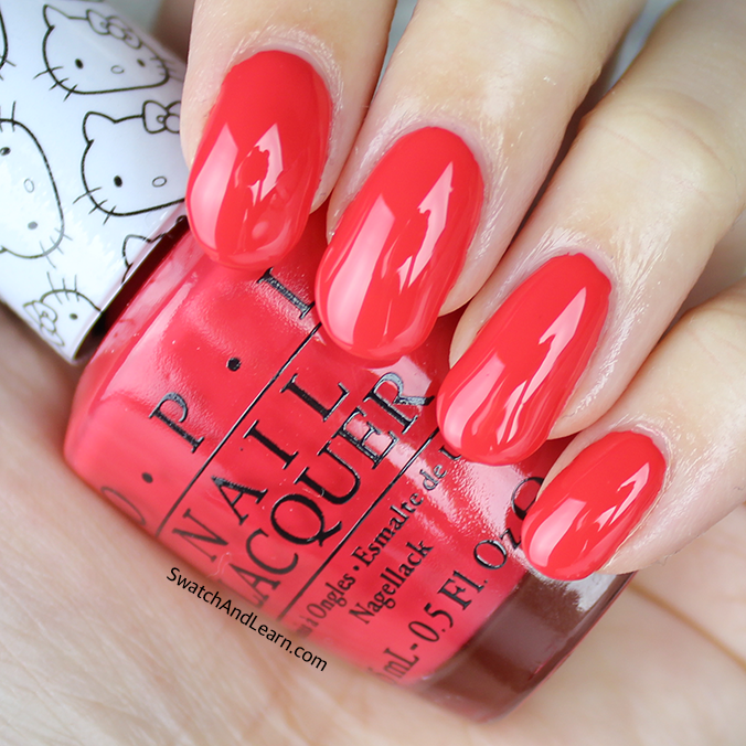 OPI 5 Apples Tall Swatches Review