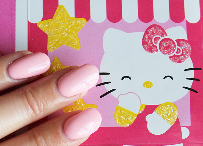 OPI Hello Kitty Collection OPI Small + Cute = Heart Swatches
