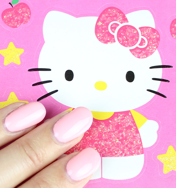 OPI Hello Kitty Collection Small + Cute = Heart