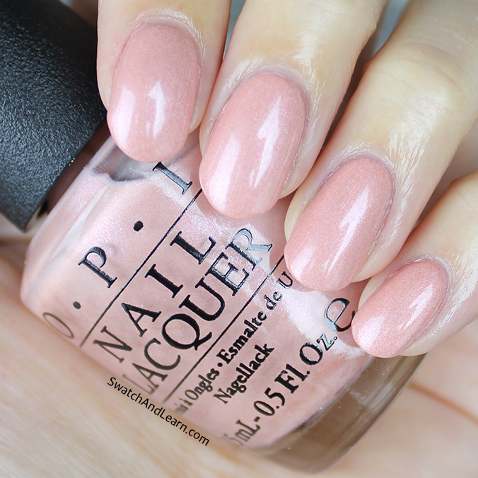 OPI Humidi-Tea Swatch OPI New Orleans Collection