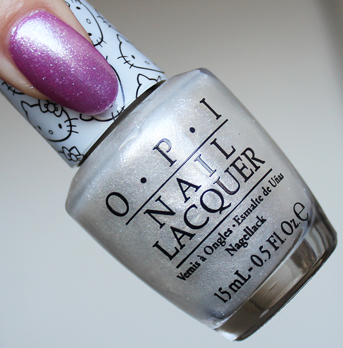 OPI Kitty White OPI Hello Kitty Collection Review