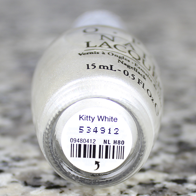 OPI Kitty White OPI Hello Kitty Collection