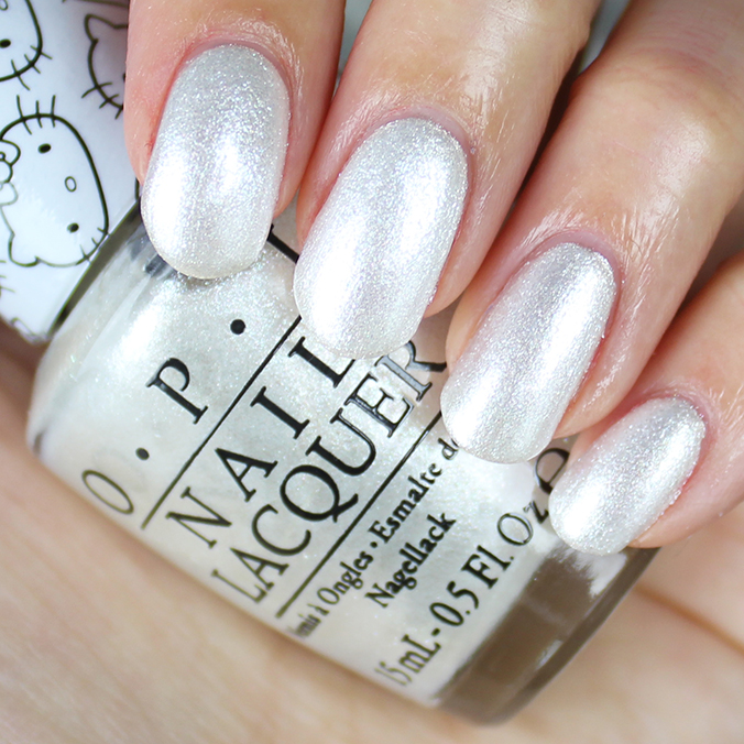 OPI Kitty White Swatch Hello Kitty Collection