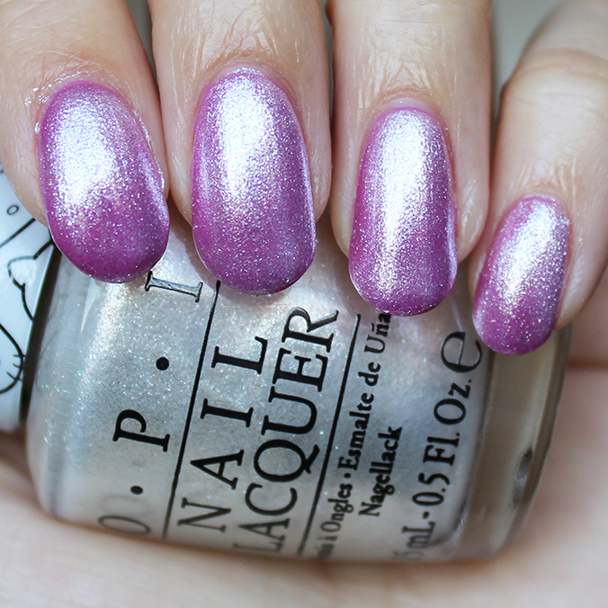 OPI Kitty White Swatches Swatch