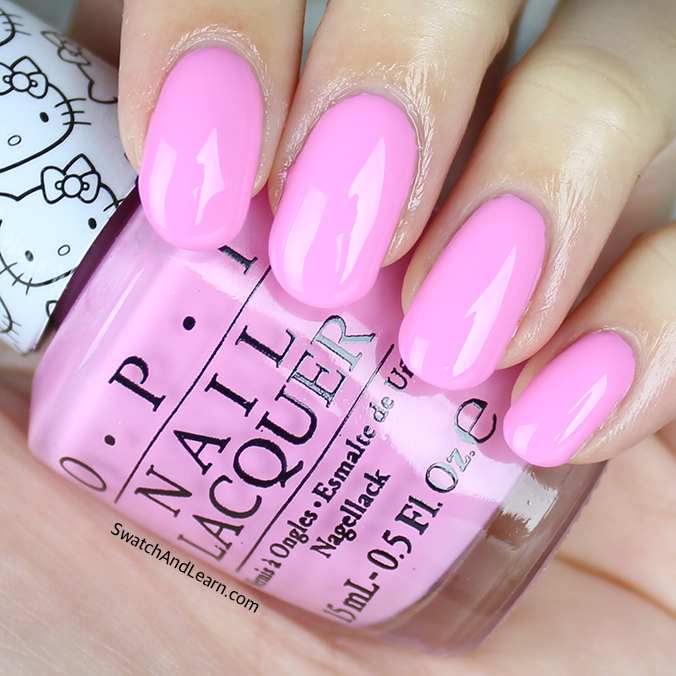 OPI Look at My Bow Swatches Review