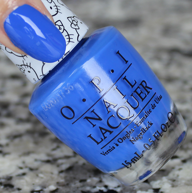 OPI My Pal Joey Review OPI Hello Kitty Collection