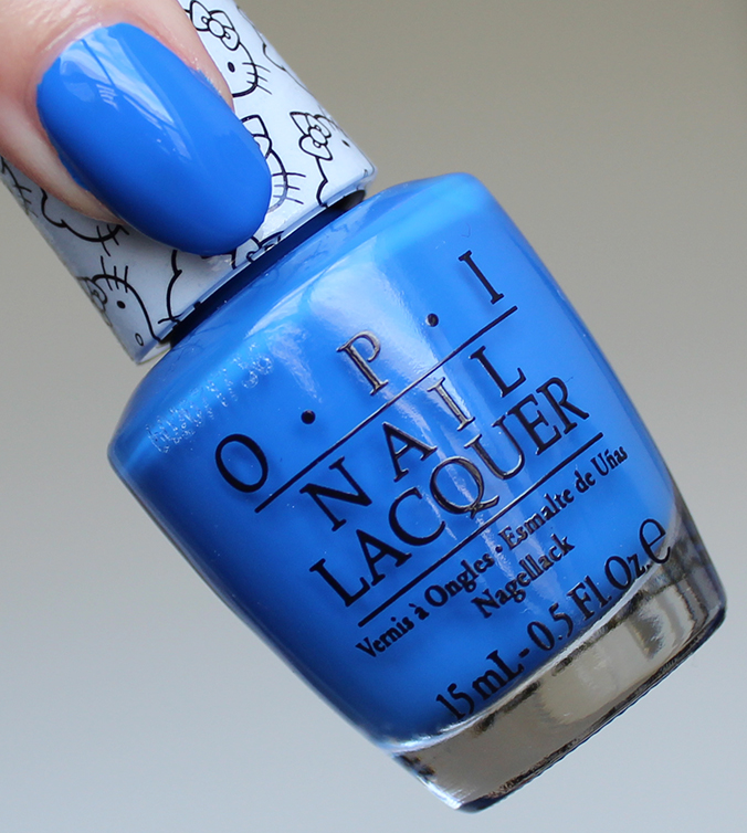 OPI My Pal Joey Swatch OPI Hello Kitty Collection Swatches