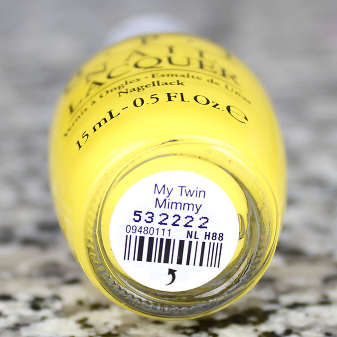 OPI My Twin Mimmy OPI Hello Kitty Collection