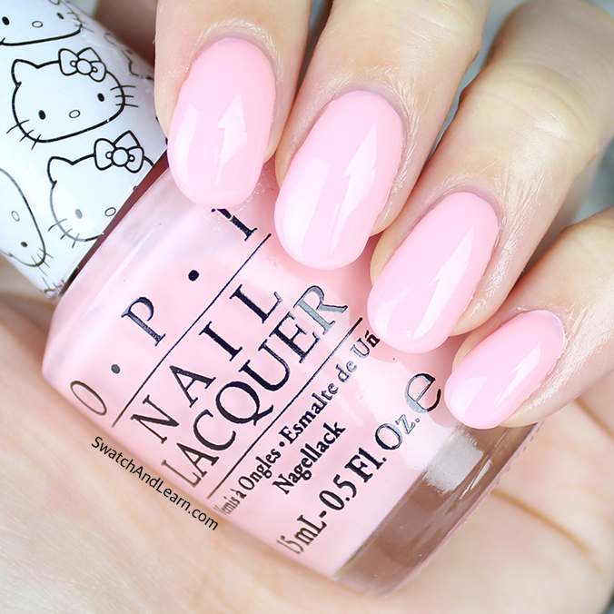OPI Small + Cute = Heart Swatches Review