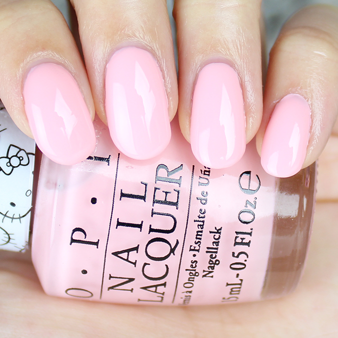 OPI Small + Cute = Heart Swatches