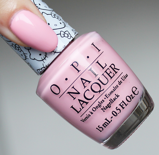 OPI Small Plus Cute Equals Heart Swatch Review