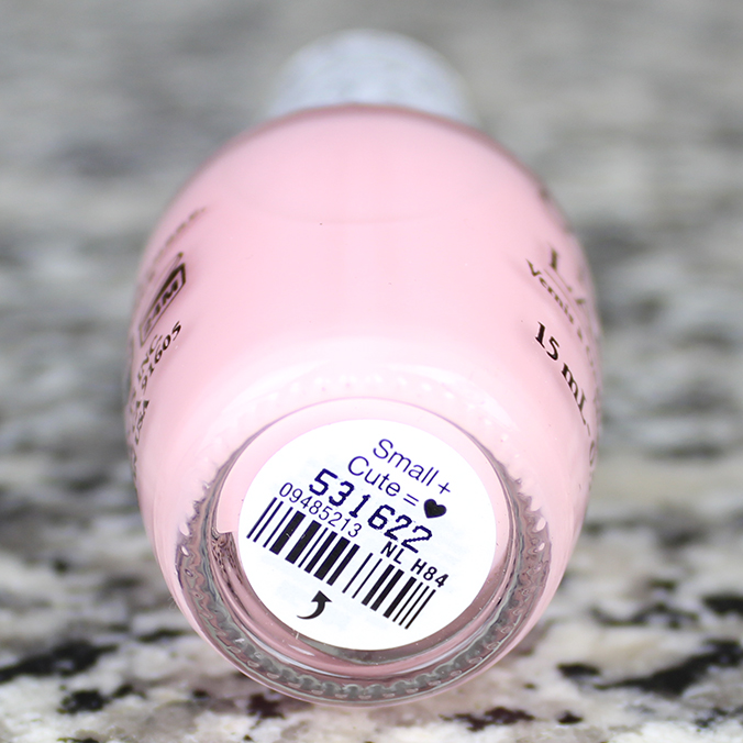 OPI Small Plus Cute Equals Heart