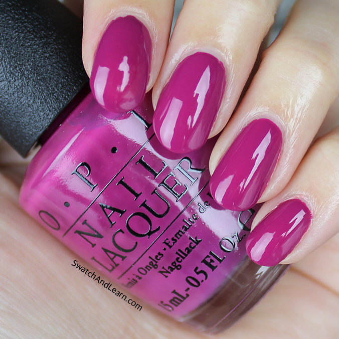OPI Spare Me a French Quarter Swatch OPI New Orleans Collection