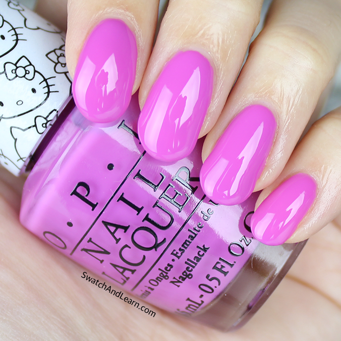 OPI Super Cute in Pink Swatches Review