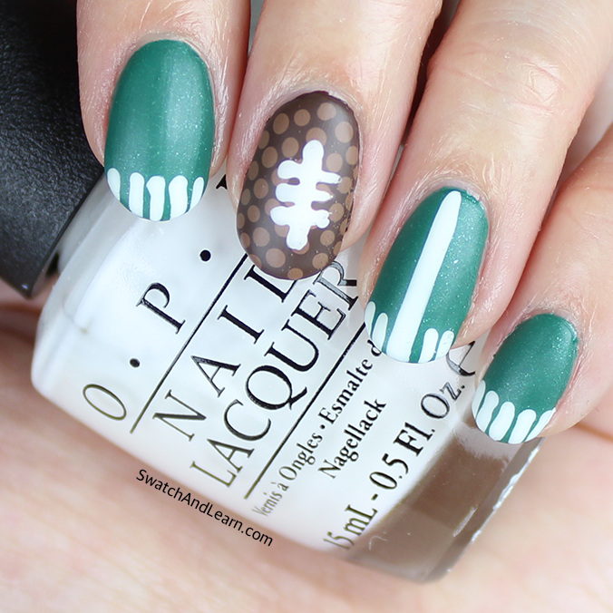 Super Bowl Nails Football Nail Art