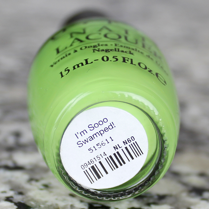 I'm Sooo Swamped OPI New Orleans Collection