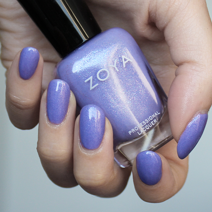 Zoya Aster Swatch Zoya Petals Collection Swatches