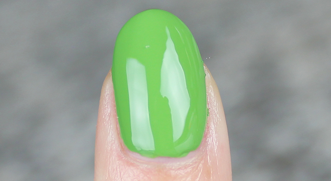 OPI I'm Sooo Swamped Review Swatch