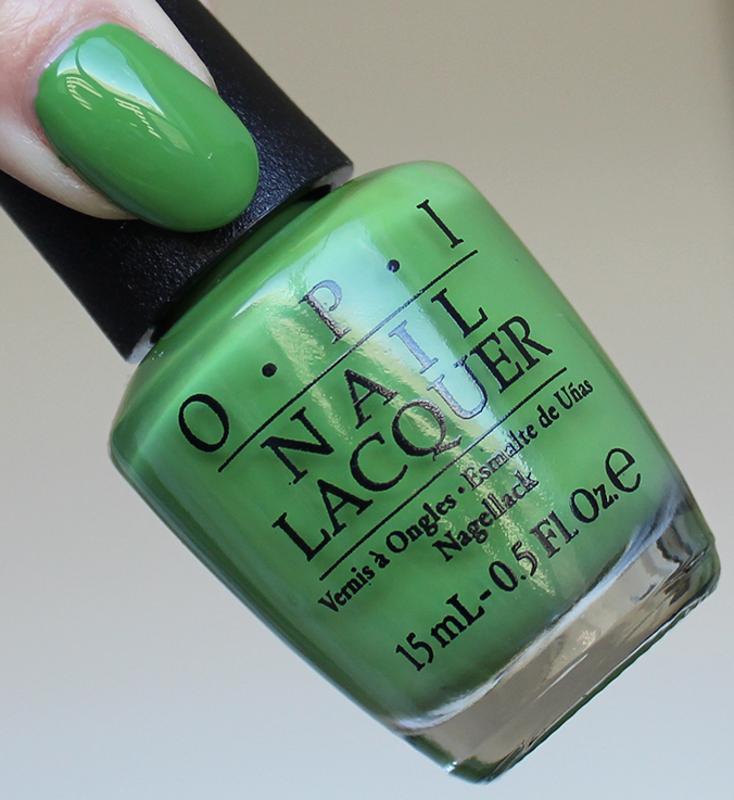 OPI I'm Sooo Swamped Review Swatches