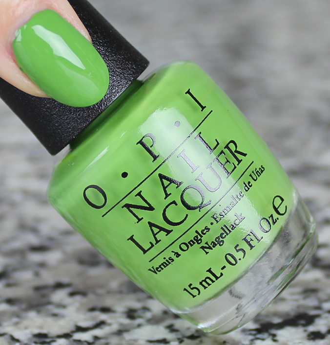 OPI I'm Sooo Swamped Review