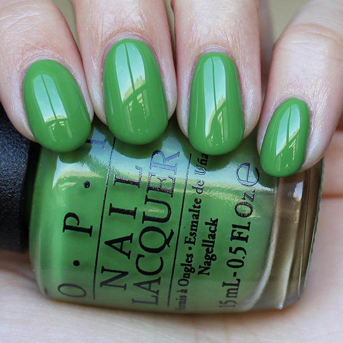 OPI I'm Sooo Swamped Swatches Swatch
