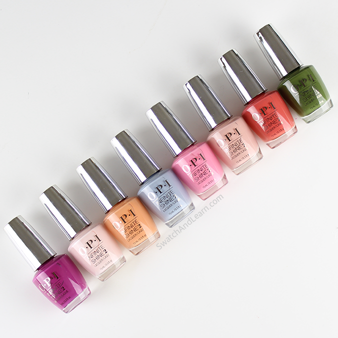OPI Infinite Shine Collection 2016 Spring