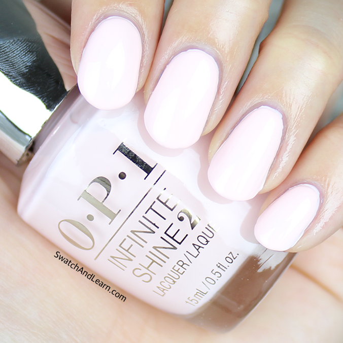 OPI It's Pink P.M. Swatch OPI Infinite Shine Spring 2016 Collection Swatches
