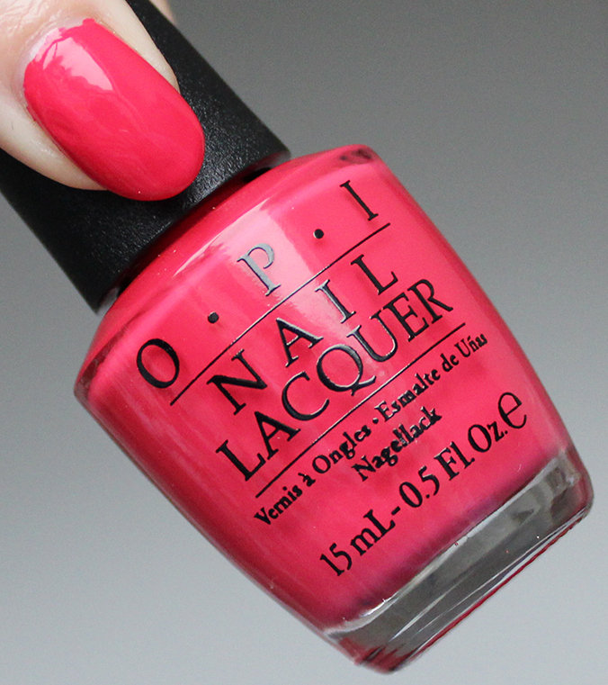 OPI New Orleans Collection OPI She's a Bad Muffuletta Swatch