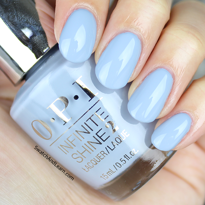OPI Reach for the Sky Swatch OPI Infinite Shine Spring 2016 Collection Swatches