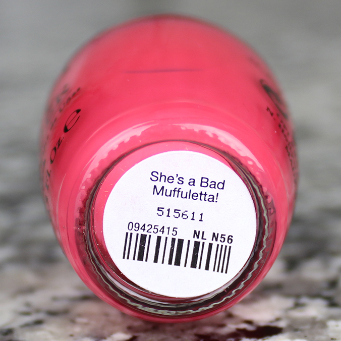 OPI Shes a Bad Muffuletta