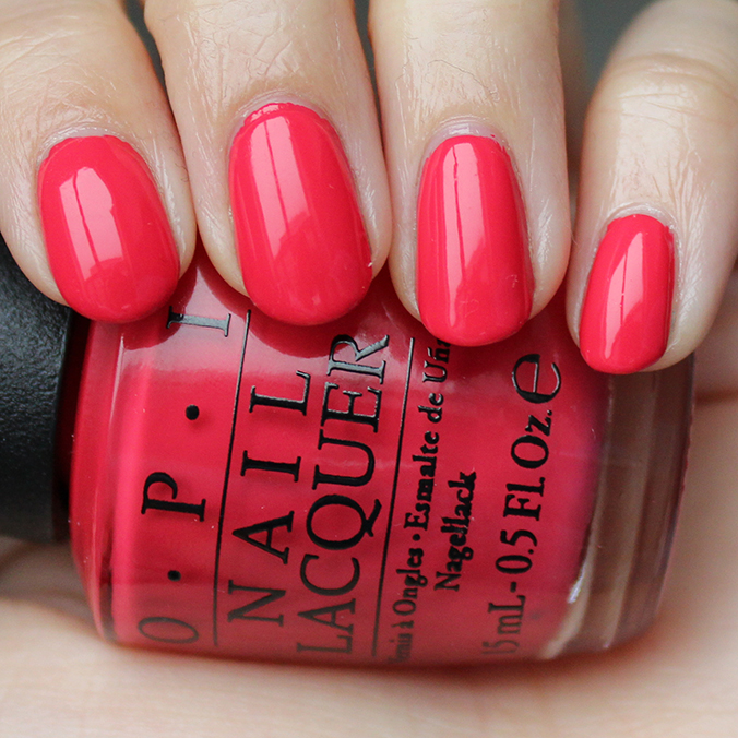 OPI She's a Bad Muffuletta Swatch OPI New Orleans Swatches