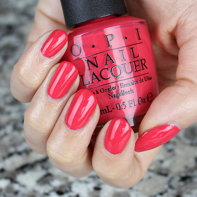 OPI She's a Bad Muffuletta Swatch Swatches Review