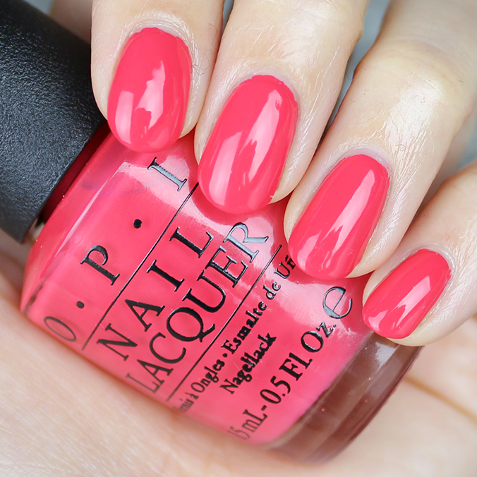 OPI She's a Bad Muffuletta Swatches Review