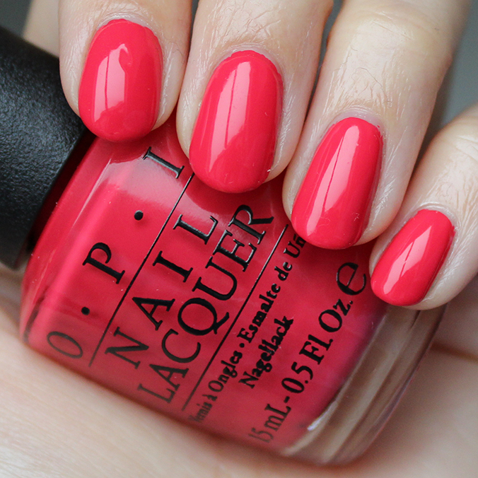 OPI She's a Bad Muffuletta Swatches Swatch