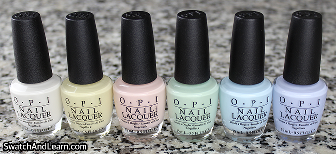 OPI Soft Shades 2016 Collection Pictures