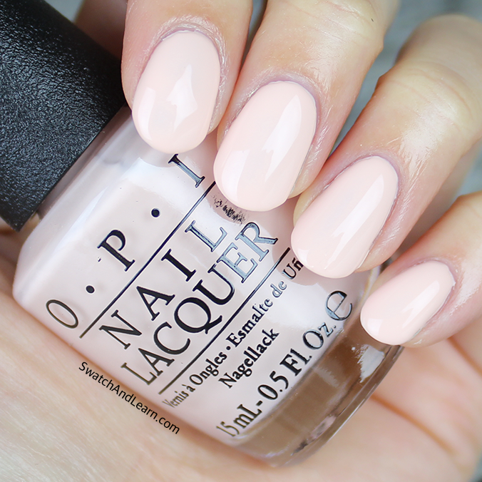 OPI Stop I'm Blushing Swatch OPI SoftShades 2016 Collection Swatches