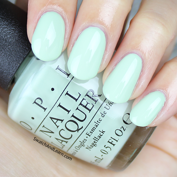 OPI This Cost Me a Mint Swatch OPI SoftShades 2016 Collection Swatches