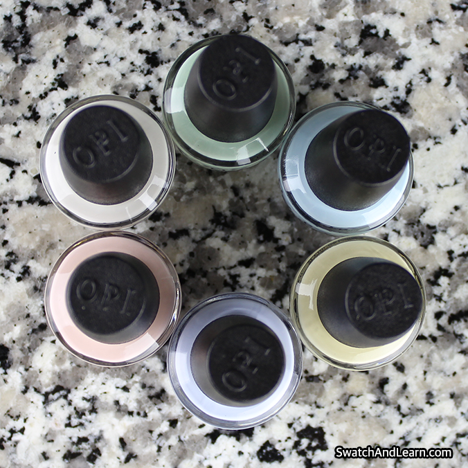 SoftShades 2016 OPI Nail Polish