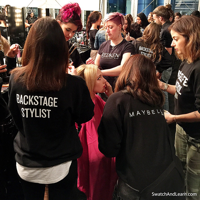 Toronto Fashion Week 2016 Beauty Team