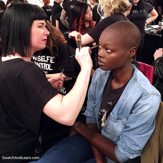Toronto Fashion Week 2016 Makeup Artistry